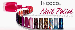 INCOCO-Dry-Nail-Appliques-READ-DESCRIPTION-16-Polish-Strips-YOU-CHOOSE-New