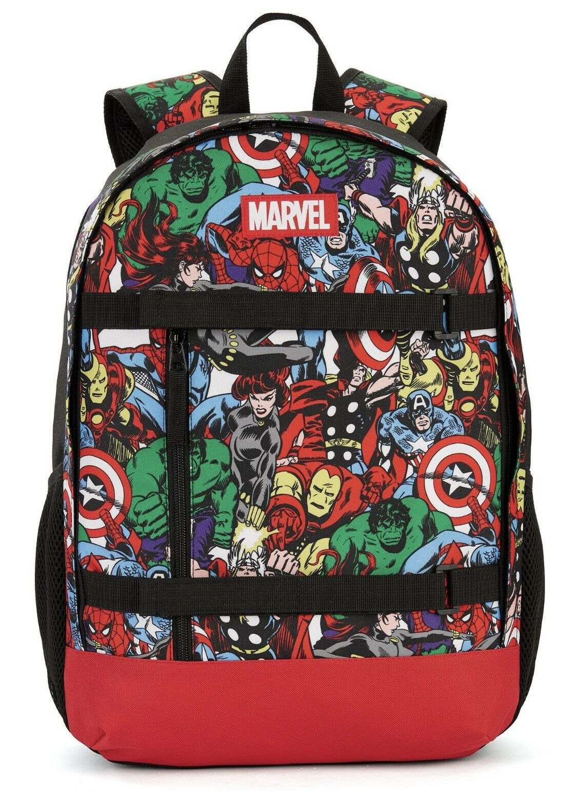 💥 Marvel Avengers Colorful & Cool Comic Backpack by Bioworld Back to School