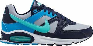 NIKE-Da-Uomo-per-il-tempo-libero-Scarpe-Scarpe-Sportive-Retro-Sneaker-AIR-MAX-COMMAND-Wolf-Grey