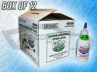 Lucas 10008 Power Steering Stop Leak - Box Of 12 Bottles