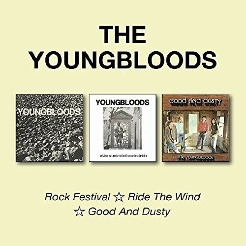 The Youngbloods - Rock Festival / Ride The Wind / Good & Dusty [New CD] UK - Imp