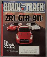 June 2010 Road & Track CORVETTE ZR1 NISSAN GT-R PORSCHE 911