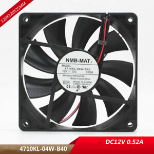 Original 4710NL-05W-B40 24v 0.22A 12CM double ball mute cooling fan equipment