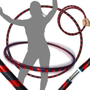 Travel Hula Hoop Diam:100cm, Lest/é:640g UltraGrip//Glitter Fitness Adulte Voyage Pliable Hula Hoop Pond/ér/é pour Aerobic et Hoop Danse Pro Hula Hoops