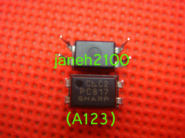 100PC Original SHARP PC817C PC817 EL817 817C Optocoupler DIP-4