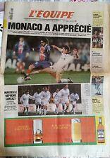 L'Equipe Journal 15/12/1997; Metz-Psg 1-1/ ASVEL/ Llado/ Maier/ l'OM reprend