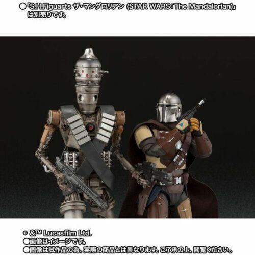 Japan version STAR WARS: The Mandalorian Bandai S.H.Figuarts IG-11