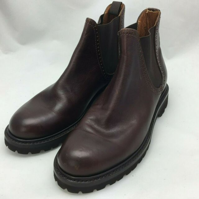 a216d084d9f Wolverine Men's Cromwell Chelsea Leather Boot Brown W40420 Size 8.5D