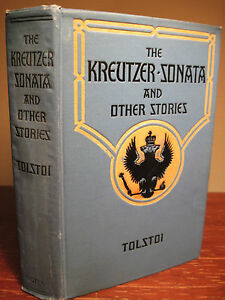 1st-Edition-KREUTZER-SONATA-OTHER-STORIES-Leo-Tolstoy-i-RARE-Antique-CLASSIC