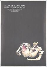 Original Vintage Poster Ballet Dance Harvey Edwards 1979 Pointe Shoes California