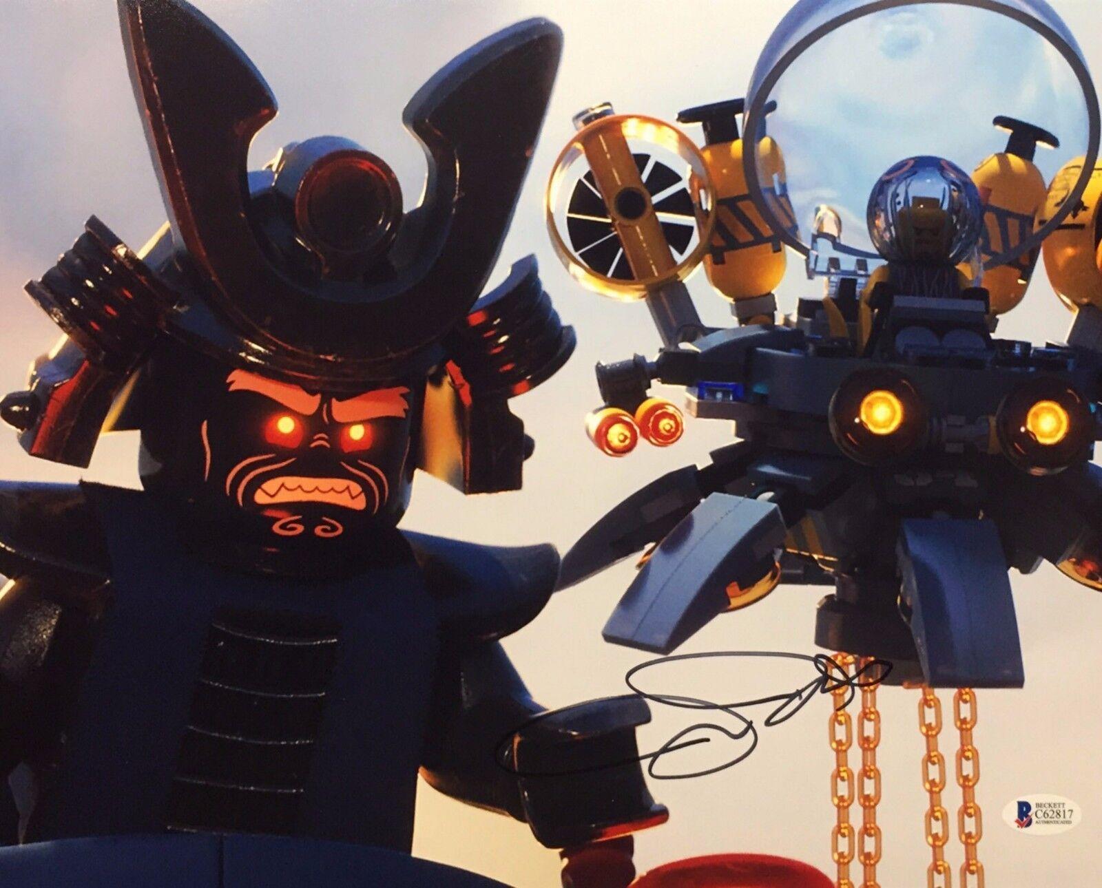 Justin Theroux 'The LEGO Ninjago Movie' 11x14 Photo Beckett C62817