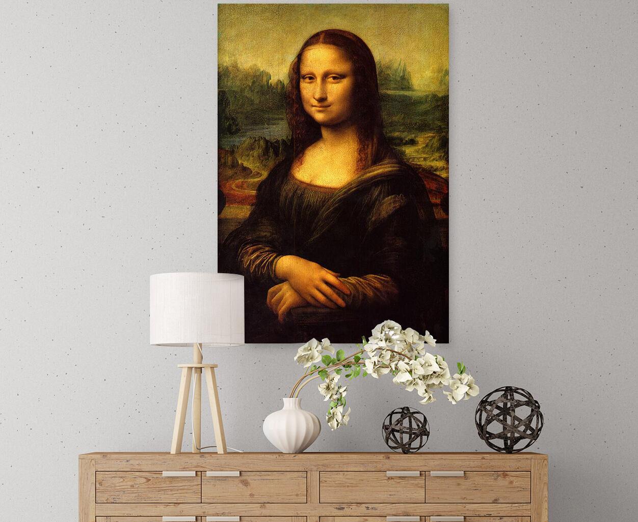 3D Mona Lisa 523 Fototapeten Wandbild BildTapete Familie AJSTORE DE
