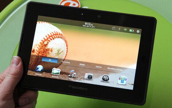 BlackBerry PlayBook 64 Go, Wi-Fi, 7 in (environ 17.78 cm) -