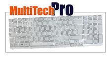 DE Tastatur f. Sony SVE15 SVE1511A1E SVE1512C6EB SVE1513A1ES Series - Weiss -