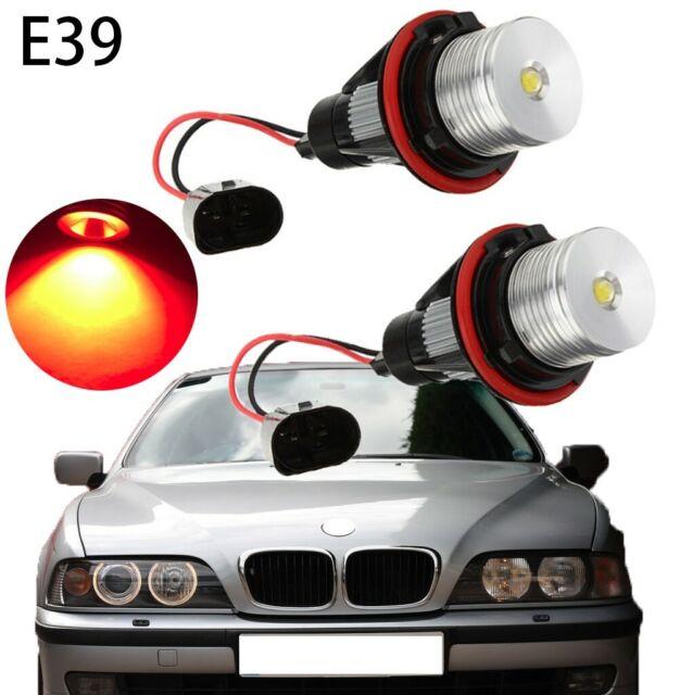 For BMW 5 Series E61 Yellow 4-LED Xenon Bright Side Light Beam Bulbs Pair