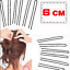 50pc-Women-039-s-Hair-Waved-U-shaped-Bobby-Pin-Barrette-Salon-Grip-Clip-Hairpins-6CM thumbnail 3