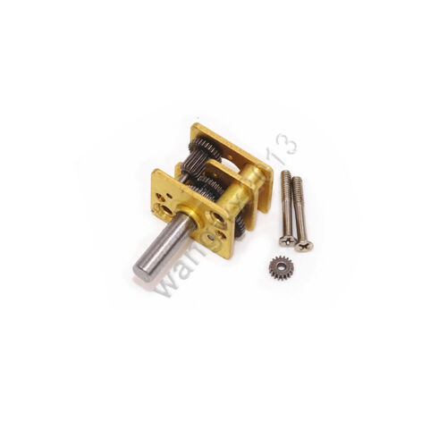 1pcs 12mm Full Metal Gear Precise Gearbox Speed Reduction Reducer for N20 Motor