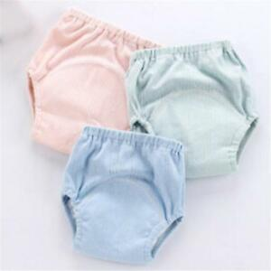 Baby-Training-Pants-Cotton-Washable-Diapers-Reusable-Nappies-Diaper-SS3