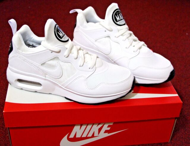 NIB Men Nike Air Max Prime Shoe Sneaker Sz 9 White 876068-100 Fashion Casual f1fb54727