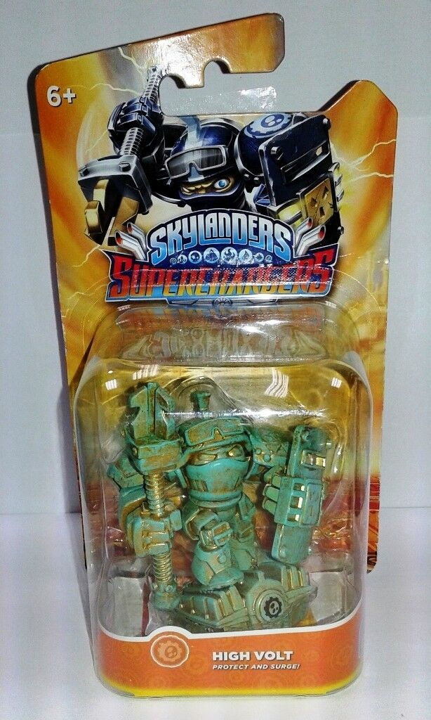Skylanders Superchargers-Patine Hoch Volts-Spécial Edition-Neuf & Neu in Sa B