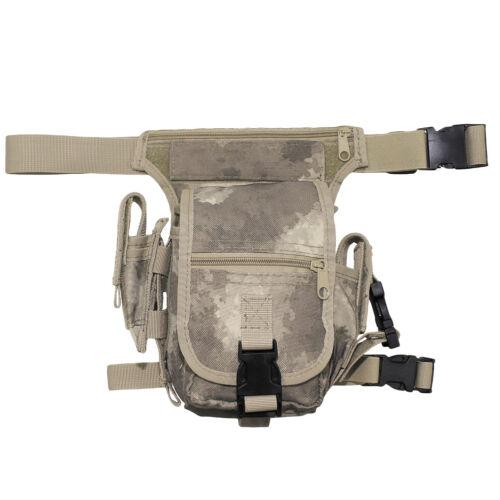 MFH Hip Bag Trekking Hiking  Fishing Cargo Outdoor Army Style Bum HDT Camo AU