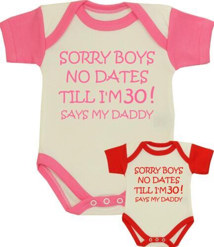Baby girls clothes aucune datation drôle slogan body gilet one piece douche cadeaux