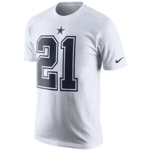 NFL Dallas Cowboys Ezekiel Elliott #21 Player Name And Number T-Shirt - 3XL