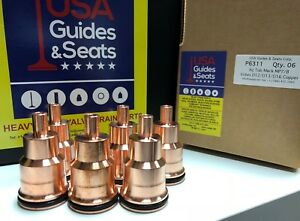 Injector-Sleeve-Tube-Volvo-D12-D13-16-Mack-MP7-8-10-OEM3183368-Set-of-6-Copper
