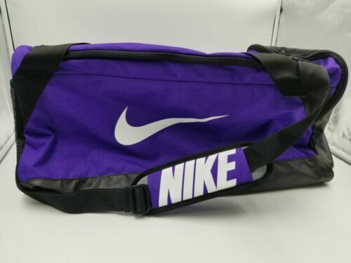 a3355edb02 Nike Brasilia Team Purple Medium Training Duffel Bag for sale online ...