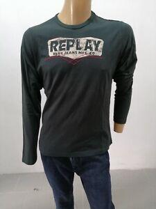 Maglia-REPLAY-Uomo-Taglia-Size-XL-Sweater-Man-Pull-Homme-P7259