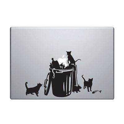 Funny Cats Sticker for Macbook Pro decal vinyl air mac 13 15 11 laptop skin cat