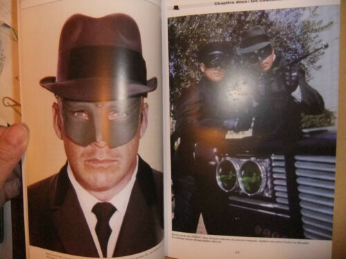 THE GREEN HORNET FRENCH BOOK TV SERIES BRUCE LEE NEW VAN WILLIAMS DRAGON