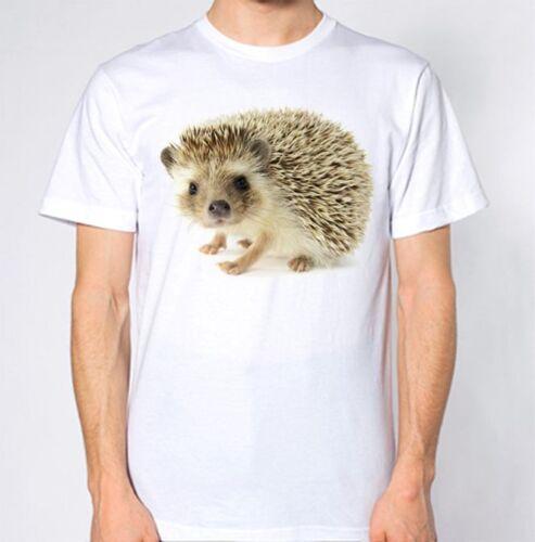 Hedgehog T-Shirt Animal Love Graphic Design Top