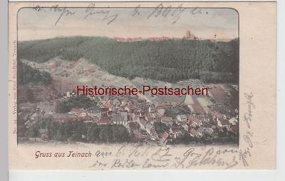(112030) Ak Gruss Aus Teinach, Gesamtansicht 1902