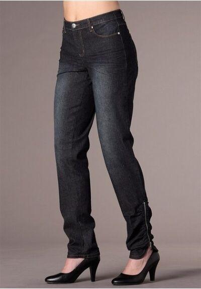 Jfm   Sheego Jeans Kurz Gr.22 23 Nuovo Donna Jeggings Pantaloni Elasticizzato