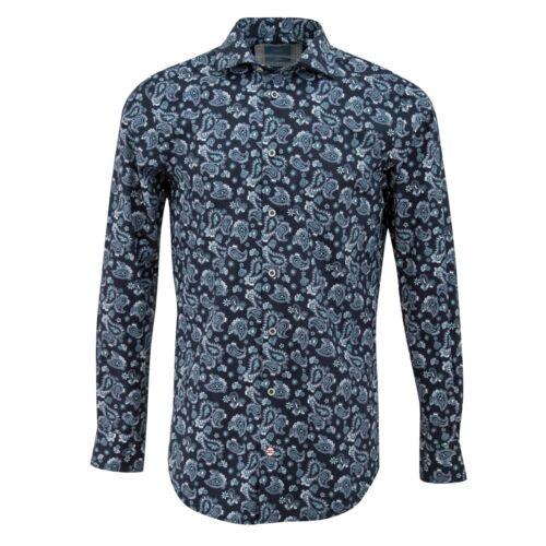 Tresanti Retro Paisley Print Mens Shirt