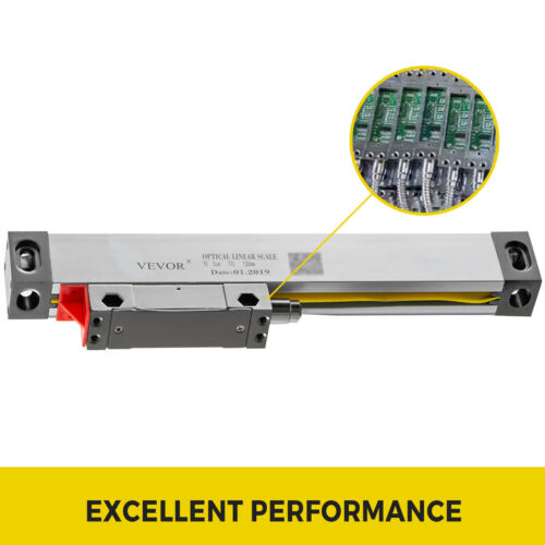 150MM Linear Scale For Milling Lathe Machine Aluminum Digital Readout Replace