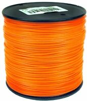 855ft Round Trimmer Line, String Parts Lines Spool Residential Lawn Orange