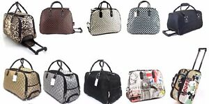 CABIN-TRAVEL-BAG-WHEELED-LIGHTWEIGHT-SUITCASE-HAND-LUGGAGE-TROLLEY-CASE-HOLDALL