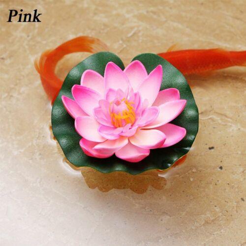 deko hohe qualität bunte schaum künstliche blume zierpflanzen echte an lotus
