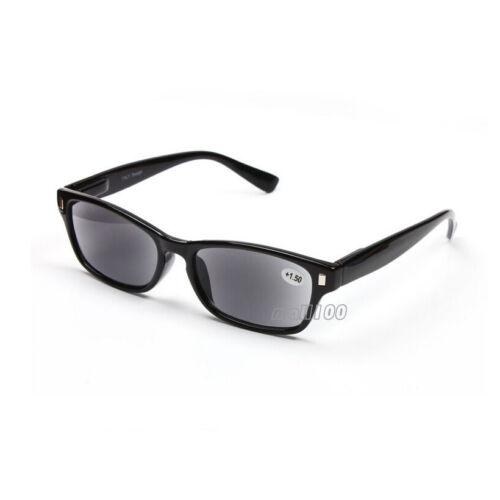 3.50 1.00 ~ New Black Frame Sunglasses Reading Glasses Reader Black Lens
