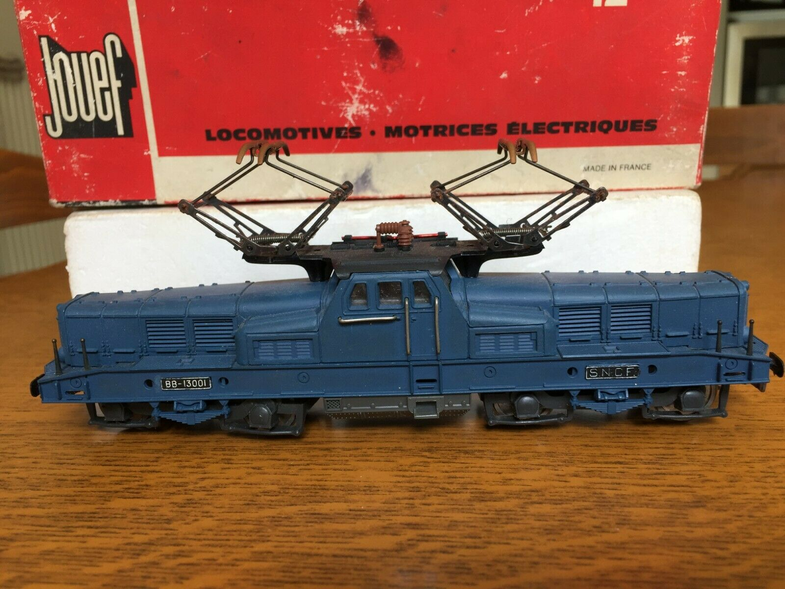 Jouef - 8422-electric locomotive bb 13001 in  oh  meilleure mode