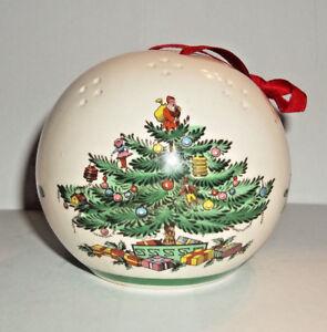 Details about Vintage Spode England Christmas Tree Potpourri Pomander  Ornament Ball 53324,C