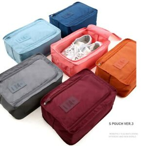 Storage Boxes & Bins Portable Shoes Storage Travel Bag Shoes Case Organizer Tote Bag Special Summer Sale