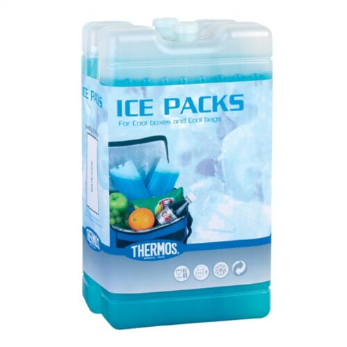 Thermos Ice Pack Freeze Cool Cooler Bag Case Travel Size 2 x 200g #795045 400g