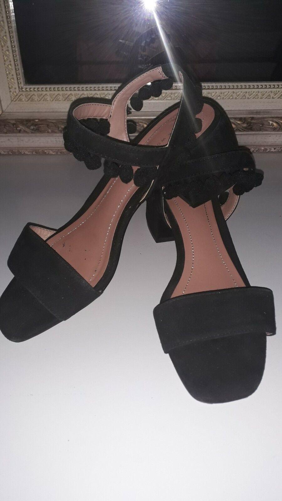 * ZARA *- Chaussures été noir Pointure 37