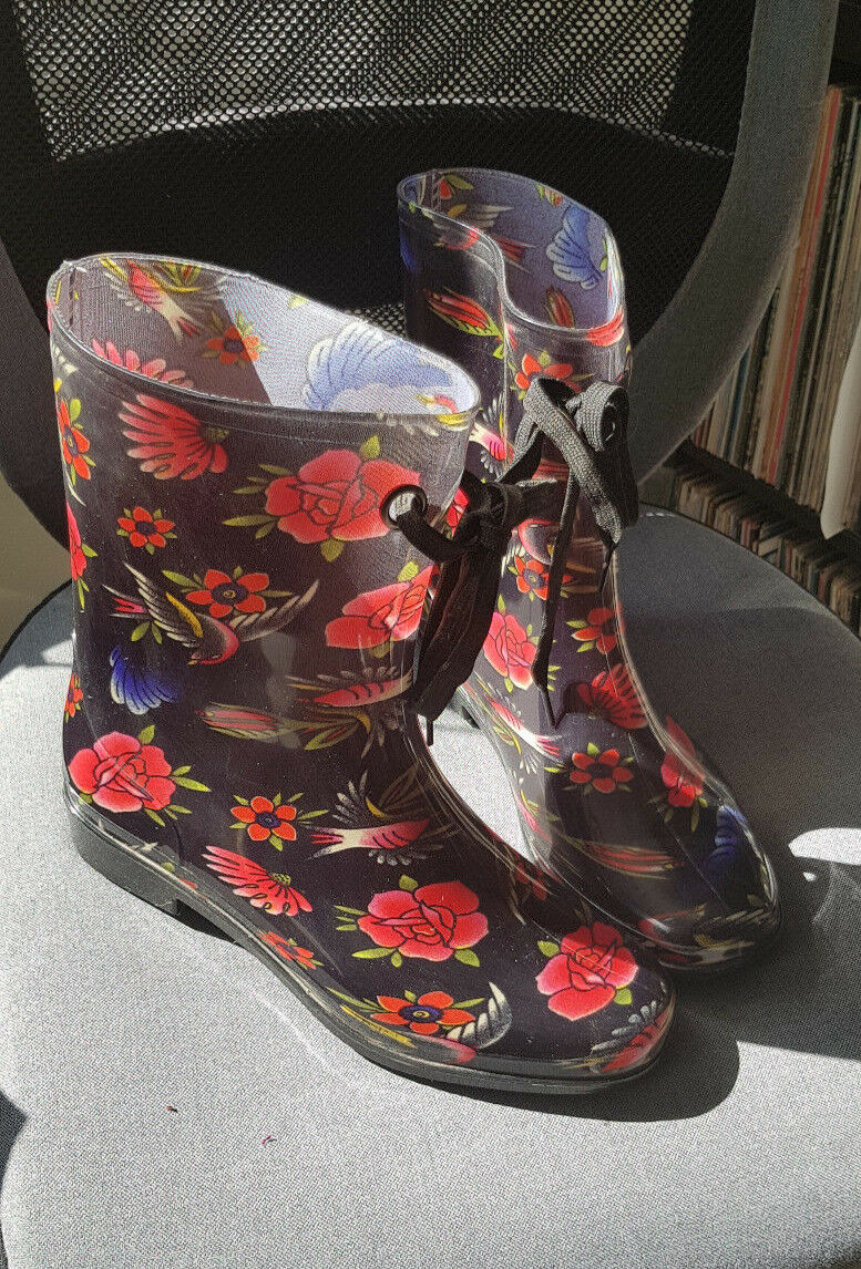 Iron Fist 'Society Suicide' Wellies Wellington Boots women's