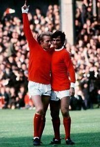 George-Best-Dennis-Law-Manchester-United-10x8-Photo