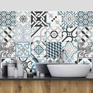 PS00206 Adesivi murali in pvc per piastrelle per bagno e cucina Stickers design