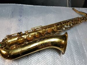 Collection Ici 60's Elkhart By Buescher 30 A Tenor Sax/saxophone-made In Usa-afficher Le Titre D'origine